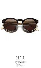 CADIZ eyewear - $249
