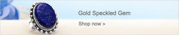 Gold Speckled Gem