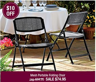 Mesh-One Folding Chair