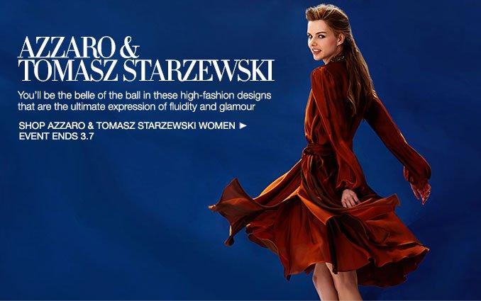 Shop Azzaro & Tomasz Starzewski- Ladies.