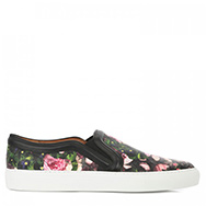 GIVENCHY - Floral leather skater shoes