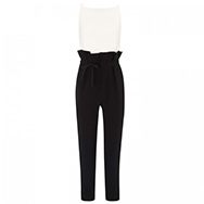 OSMAN - Monochrome stretch crepe jumpsuit