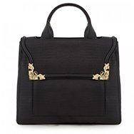 MCQ ALEXANDER MCQUEEN - Textured leather tote