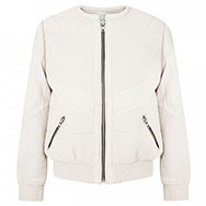 IRO - Akila quilted leather bomber jacket