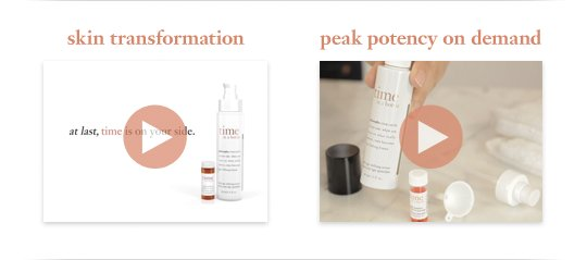 skin transformation. peak potency on demand