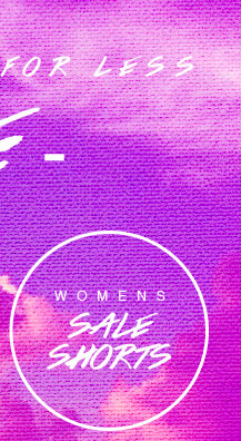 Shop Womens Sale Shorts