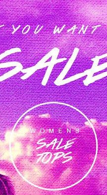 Shop Womens Sale Tops