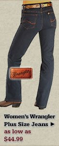 Womens Wrangler Plus Size Jeans on Sale