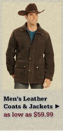 Mens Leather Coats and Jackets on Sale