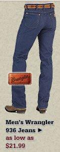 Mens Wrangler 936 Jeans on Sale
