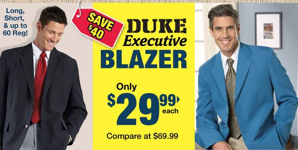 Shop DUKE Executive Blazer