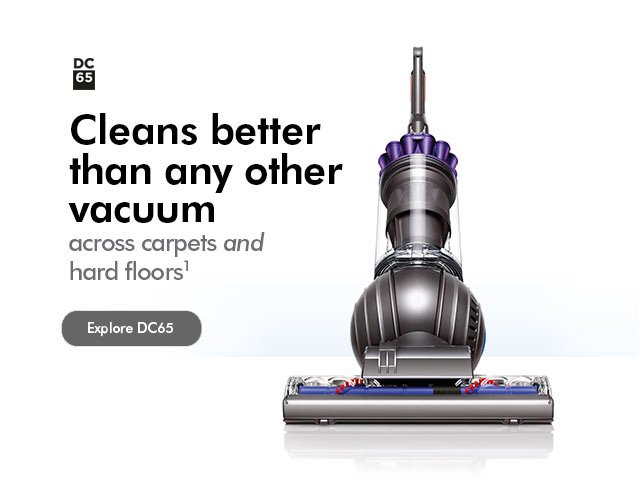 The Dyson DC65. Cleans better than any other vacuum across carpets and hard floors