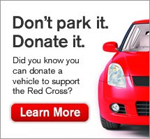 Don't park it. Donate It. Learn More.