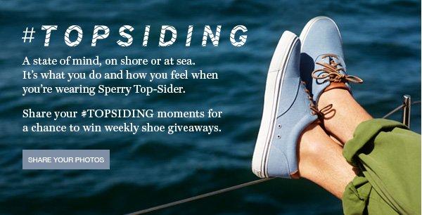 #TOPSIDING | SHARE YOUR PHOTOS