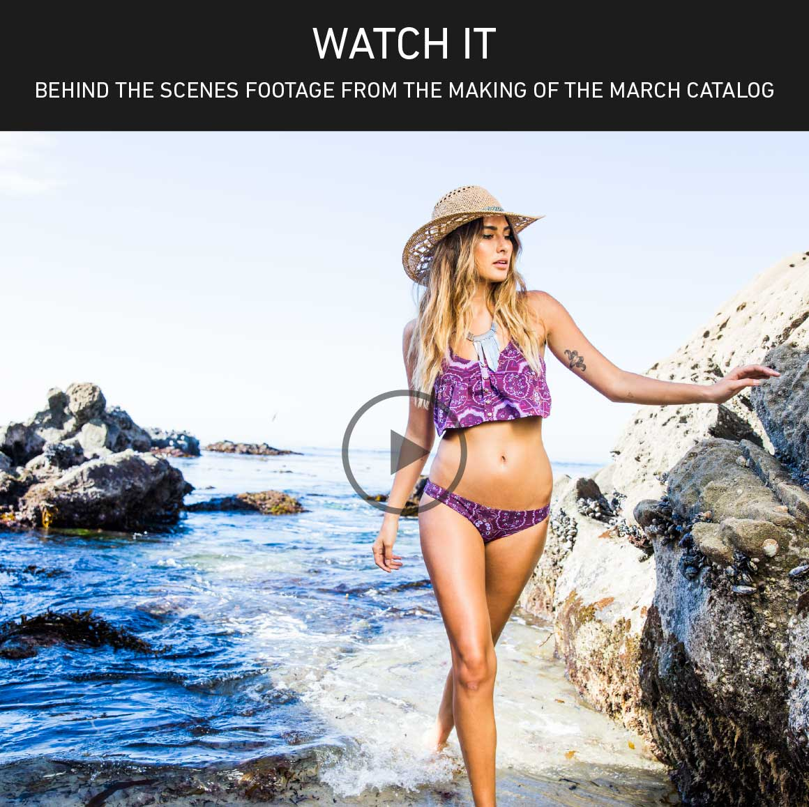 Watch It: Behind the Scenes from the March Catalog