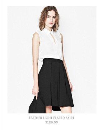Feather Light Flared Skirt