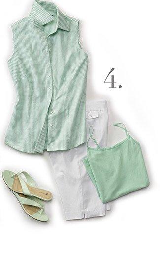 Poplin Shirt & Bermuda Shorts