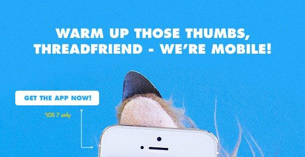 Threadless iPhone App