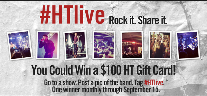 #HTLIVE ROCK IT. SHARE IT