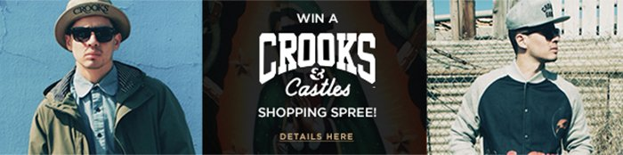 Win a Crooks & Castles Shopping Spree!