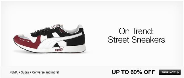 On Trend: Street Sneakers