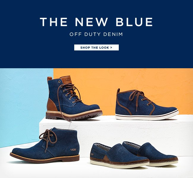 THE NEW BLUE, OFF DUTY DENIM
