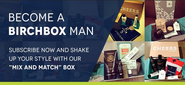 Subscribe now and shake up your style with our Mix and Match Box