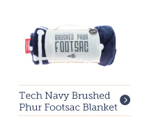Footsac Blanket - Tech Navy Brushed Phur