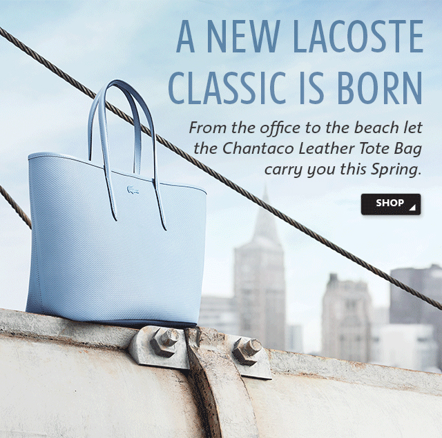 A NEW LACOSTE CLASSIC IS BORN
