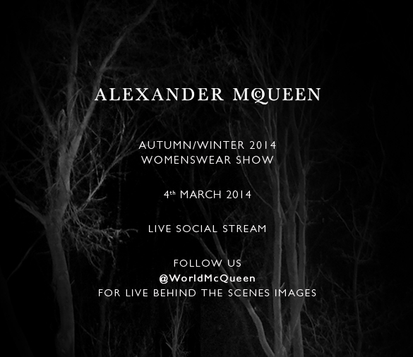 Autumn/Winter 2014 Womenswear Show