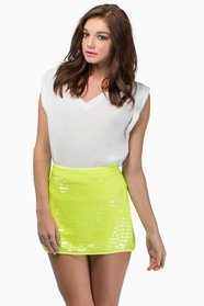 Friday Night Lights Mini Skirt