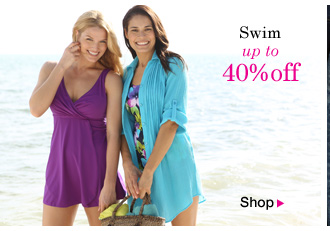 Swim up to 40% OFF