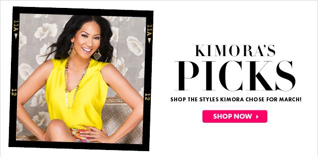 Shop The Styles Kimora Chose For March!