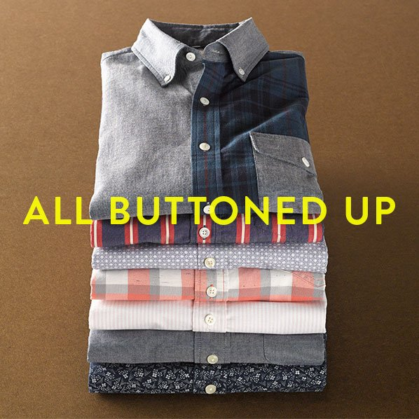 ALL BUTTONED UP