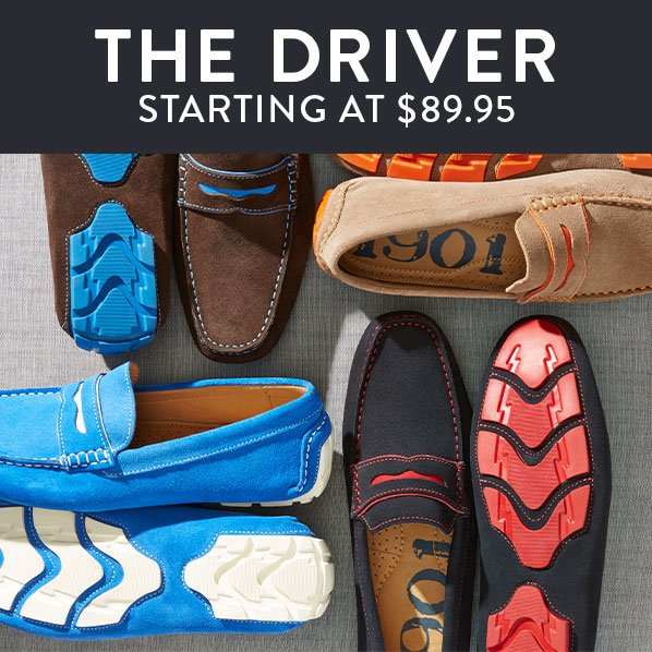 THE DRIVER - STARTING AT $89.95
