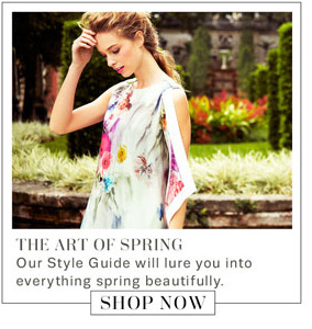 The Art Of Spring. Shop Now