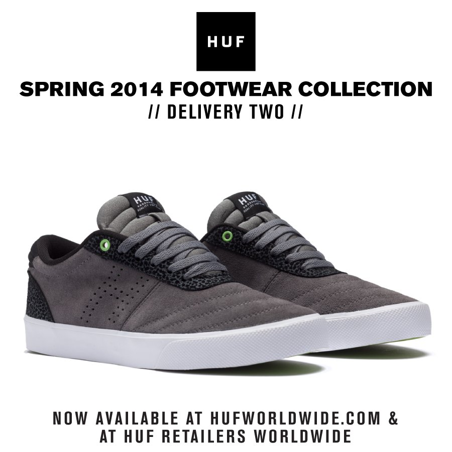 HUF SPRING 2014 COLLECTION // DELIVERY TWO FOOTWEAR