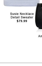 Susie Necklace Detail Sweater
