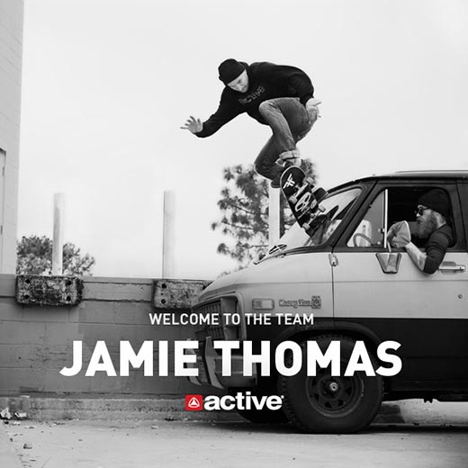 Welcome to the team Jamie Thomas