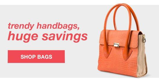 shop trendy handbags