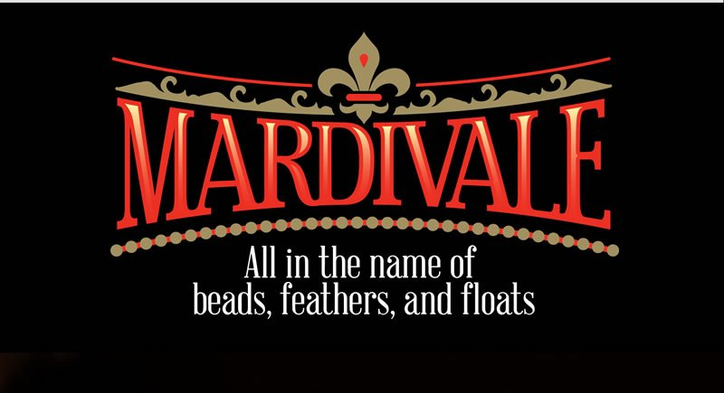 Mardivale.  All in the name of beads, feathers, and floats
