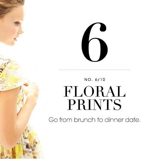 6 FLORAL PRINTS