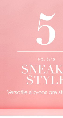 5 SNEAKY STYLE