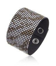 Slake Large Zebra Black Bracelet