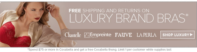 Luxury Brand Bras