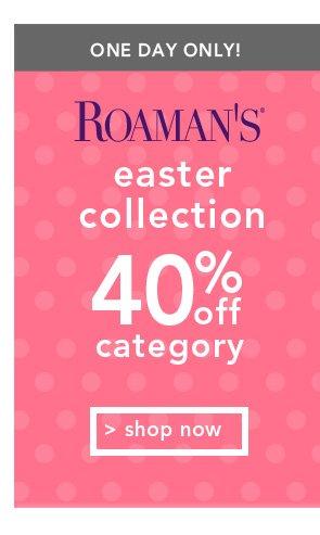 Shop Roamans Easter Collection