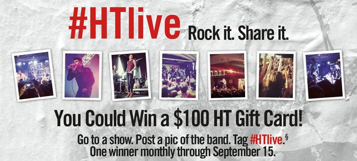 #HTLIVE - ROCK IT. SHAER IT.