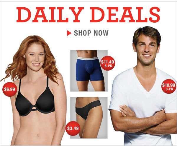 Daily Deals as low as $3.49