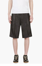 DIESEL Black Bermuda P-Lonnie Shorts for men