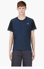 KENZO Indigo Inside-Out T-Shirt for men